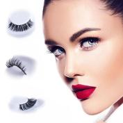 False Eyelashes - 1 Pair Multipack Natural 3D False Eyelashes Natural Dramatic Look For Makeup Eyelashes Extension.