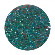 Glitter Pot - ( 549 Mystical Mermaid ) Chunky And Fine Mix Festival Glitter Shape Glitter Eyes Eye Shadow Nail Art Face And Body