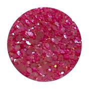 Glitter Pot - ( 540 Pink Pony ) Chunky And Fine Mix Festival Glitter Shape Glitter Eyes Eye Shadow Nail Art Face And Body
