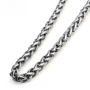 HFJ & YIE & H Men's wild fashion clavicle clavicle Korean titanium steel necklace domineering chain keel with the influx of people do not fade