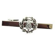 Scottish Thistle Tie Bar
