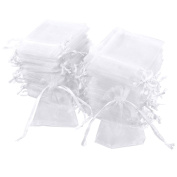 Anladia 100 Organza Gift Bags Jewellery Candy Packing Pouches Wedding Party Favour