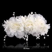 KPHY-The Bride Headdress Korean Dish Hair Barrette Hair Accessories Wedding Dress Wedding Bridesmaid Headdress Headdress Jewellery