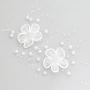 KPHY-The Bride All-Match Headdress Beaded White Line Yarn Juan Hairpin Headdress Hair Accessories Wedding Wedding Dress
