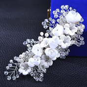 MDRW-Bride Wedding Prom Hair Pins N N _ Hairpin Handmade Smaid Dress Headdress Hairpin Accessories