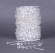 Cotton thread bead chain 30 m wedding DIY jewellery accessories (2 colours) , 2