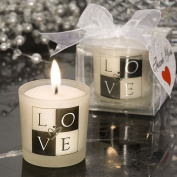 Love Design Candle Favours