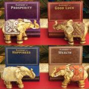 4 x Decorative Mini Lucky Elephants