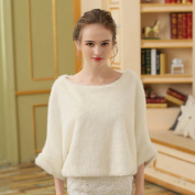 Women's Wrap Ponchos Faux Fur Wedding Party/ Evening Fur