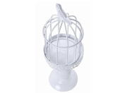 ZHJZ Wedding Party Centrepiece Decor Romantic Iron Birdcage Candle Holder