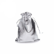 Zimo 100pcs/lot Satin Fabric Gift Bags With Drawstring/ Jewellery Bag / Small Gift Bags 7*9cm