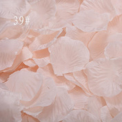 Romancy 500pcs Artificial Silk Rose Petals for Wedding Party Decor