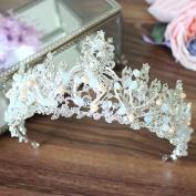 crystal bride Crown manual Beaded Exquisite Studio Wedding dress Supplies