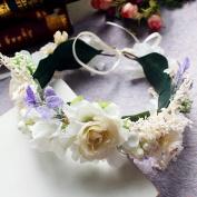 Bride wedding party dance catwalk wedding photography styling accessories wreath