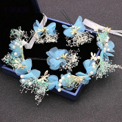 Bride head flower head ornaments wedding wreath cloth jewellery