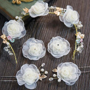 Bride Korean style Beautiful Fresh Headdress Suit Wedding Modelling Accessories
