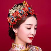 Chinese Costume Bride Headdress Xiu wo Clothing Accessories Beauty Cosmetics