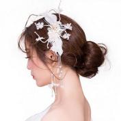 Studio Bride Headdress Earrings Suit Hair Ornaments