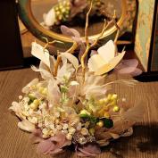 Pastoral flowers Wizard Headdress bride Hair bands Head flower Decorations