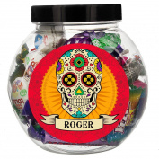 Personalised Sugar Skull Sweet Jar Personalised This Is Perfect For A Halloween Party The Jar