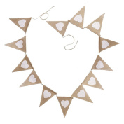 Milopon Bunting Banner for Wedding Party Decoration Hanging Decoration
