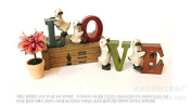 treasure-house Love sign wedding decor home decoration wooden sign rustic wooden sign white love sign sweetheart table Wedding Decoration- Photography Prop