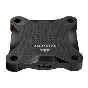 ADATA SD600 256GB External SSD Drive, USB 3.1, Durable, R/W 440/430 MB/s, Black