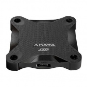 ADATA SD600 512GB External SSD Drive, USB 3.1, Durable, R/W 440/430 MB/s, Black