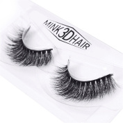 HENGSONG 3D Artificial Hair False Eyelashes Natural Thick Eye Lashes Makeup Extension