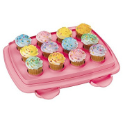 MisterChef® Ultimate 3 In 1 Cupcake / Cake Caddy Carrier – Store upto 12 standard size cupcake or 24 mini cupcakes – Can be used as a Cupcake / Cookie / Muffin or any other Storage Container