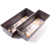 2x Large 30cm Rectangle Non-Stick Loaf Tins/Baking Trays