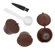 Refillable Coffee Capsule Reusable Filter for Nescafe Dolce Gusto System 3 Pack
