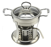 Stainless Steel Household Alcohol Stove Fire Boiler Dormitory Single Hot Pot