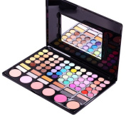Accessotech 78 Colour Eyeshadow Eye Shadow Palette Makeup Kit Set Make Up Box with Mirror