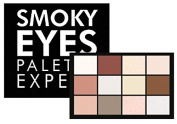 ASTRA Smoky eyes palette 1 taylor's nude eye shadow *
