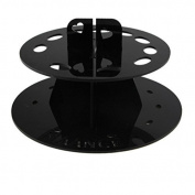 baleba 10 Hole Oval Makeup Brush Holder Drying Rack Organiser Cosmetic Shelf Tool