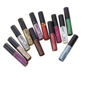 Shimmer Glitter Lip Gloss Powder 15Pcs SOMESUN Palette Glitter Lipstick Cosmetic Eye shadow