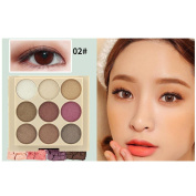 Native99 12 Colour Cosmetic Matte Shimmer Eyeshadow Cream Makeup Palette