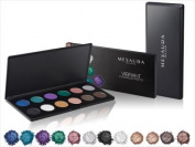 mesauda Palette Vibrant 12 Eyeshadow Pearlescent Make Up Eyeshadow Palettes Makeup Palette Cosmetic Bag