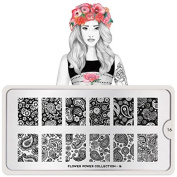 MoYou-London Stencil Flower Power Collection 16