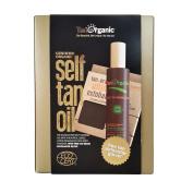 Self Tan Oil with Free Exfoliator Glove