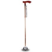 Hmhope Mahogany Aluminium Alloy Walking Sticks Canes Foldable Adjustable Height 87-98cm Thanksgiving Gift Multifunction