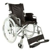 Royal Pram, Wheelchair with Sitting 46 cm, Black Fabric