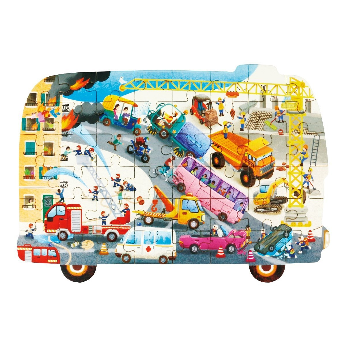Robotime Dinosaur Wooden Puzzle 48 Pcs-Dinosaur Jigsaw Toys for 3 ...