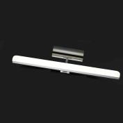 GAOLILI LED Mirror Headlights Bathroom Mirror Bathroom Makeup Desk Toilet Toilet Mirror Mirror Up And Down Flip Adjustment Simple And Stylish Waterproof And Rustproof 9w
