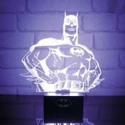 Superhero Mood Light Lamp Batman stance Official DC Comics One Size