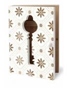 New Wooden Key Hooks Holder Board Shabby Chic Small Keys Cabinet Key Holder