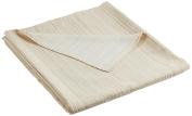 Martina Home Ribera Foulard Multi-Purpose/Plaid, Fabric 270x250x1 cm ecru