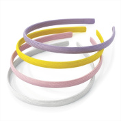 Bling Online 4pc Fabric Covered Headbands Alice Bands.
