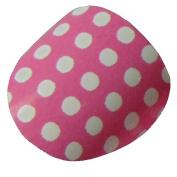 New Design LITTLE CHIX Nail Wraps Pink Polka Dot CHILDRENS Teens Finger Toe Foils Minx Trendy Style